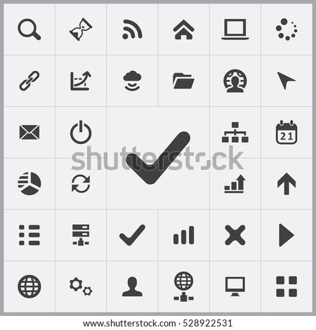 vote icon. development, soft icons universal set for web and mobile