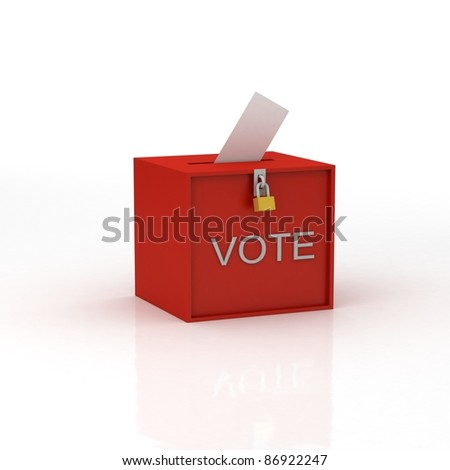 voting - stock photo
