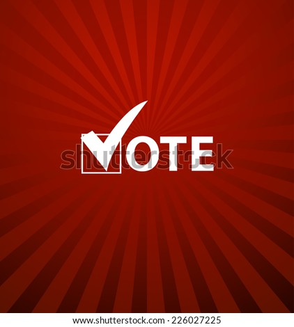 Voting Symbols - stock photo