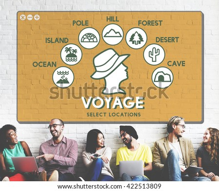 Voyage Adventure Travel Journey Experience Concept - stock photo