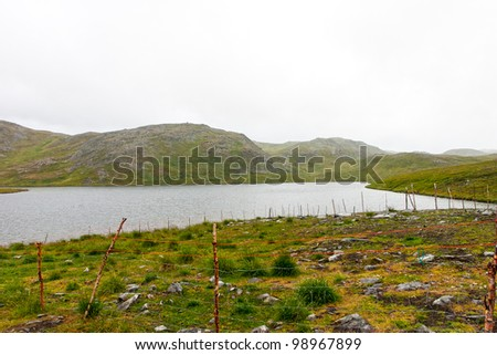 voyage in north europe - stock photo