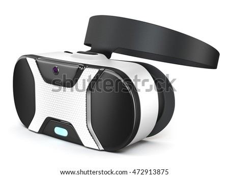 VR Headset, 3D illustration