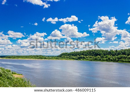 vyatka river view