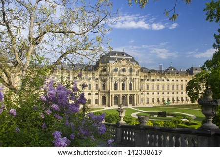 Würzburg Residence - stock photo