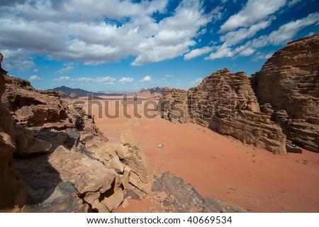 Wadi Rum, Jordania - stock photo