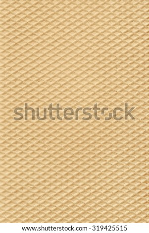 Wafer background. Waffle texture in high resolution. - stock photo