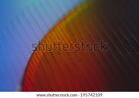 Wafer Firered - stock photo