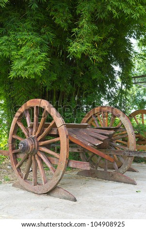 Wagon Wheel is located in a beautiful bamboo garden relaxation.