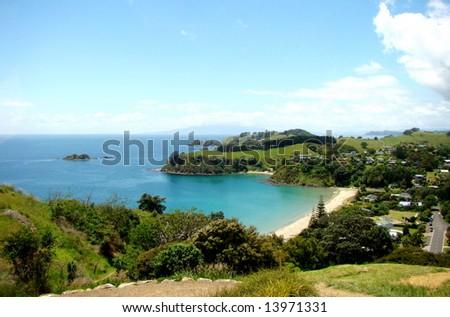 Waiheke Island, Auckland, New Zealand - stock photo