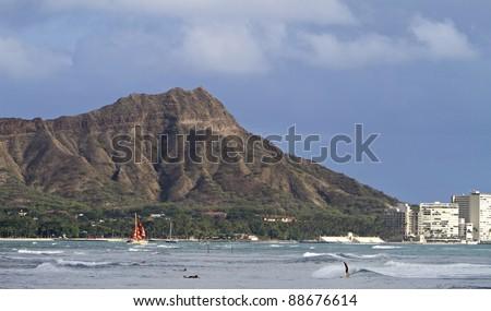 Waikiki - stock photo
