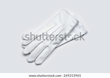 Waiter gloves