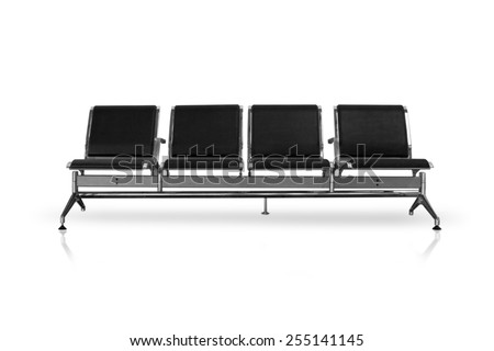 waiting chairs - stock photo