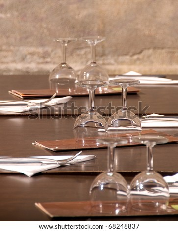 Waiting for Guests - stock photo