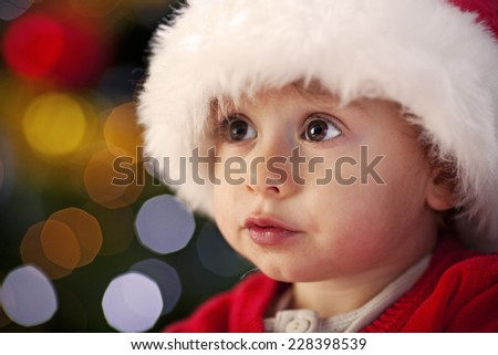 Waiting For Santa Claus - Stock Image