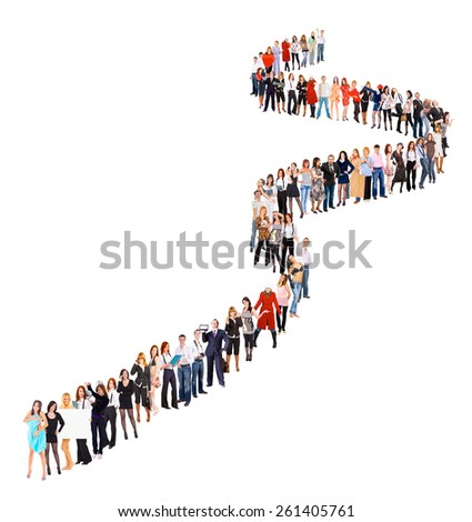 Waiting for their Turn Corporate Culture  - stock photo