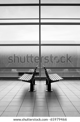 waiting room at the airport