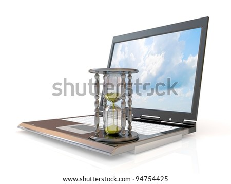 Waiting To Connect - stock photo
