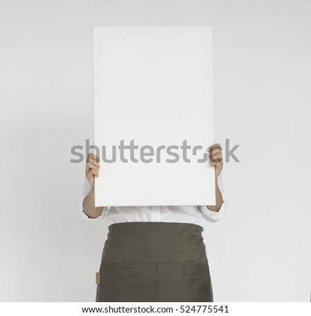 Waitress Woman Working Hospitality Apron Concept