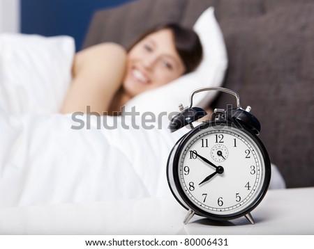 Wake-up - stock photo