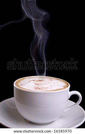 Wake up and smell the coffee! - stock photo