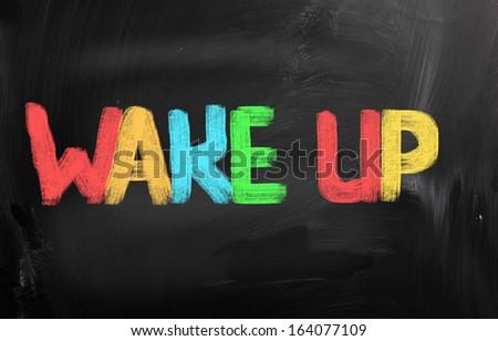 Wake Up Concept - stock photo