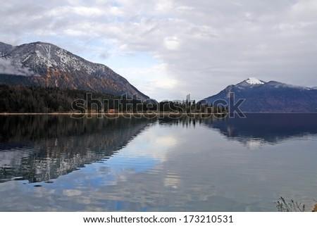 Walchensee - stock photo