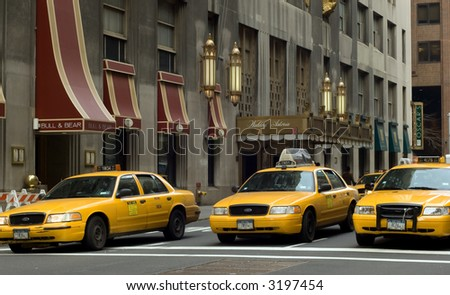 Waldorf Astoria on Park Ave in New York city - stock photo