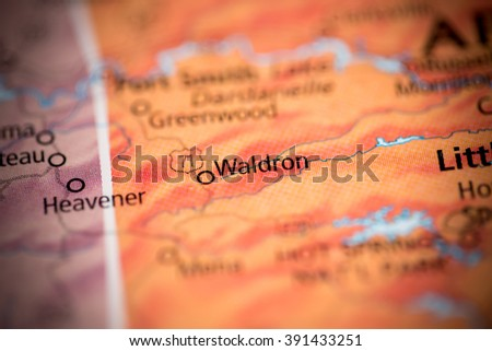 Waldron. Arkansas. USA - stock photo