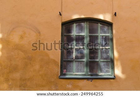 Wall and window background