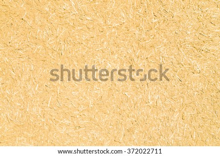 Wall from the clay mixed with straw - stock photo