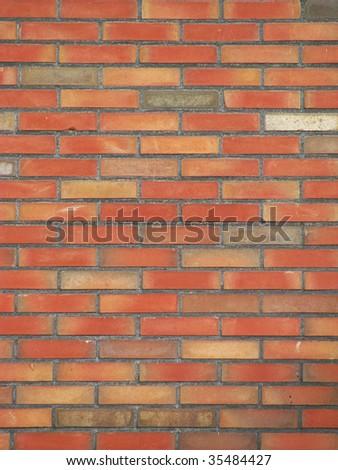 Wall of bricks - stock photo