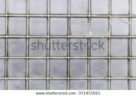 Wall of Glass Blocks