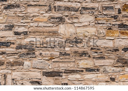 wall of the ancient buildings of stone stone background
