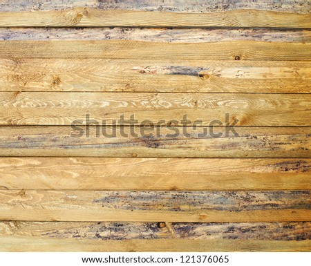 Wall of wood