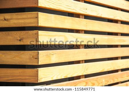 Wall Wood Panels Sun Light Stock Photo (Royalty Free) 115849771 ...