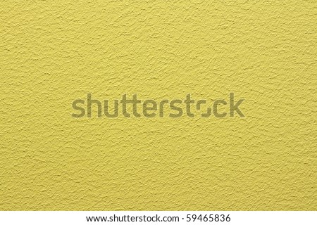 wall painted yellow - stock photo