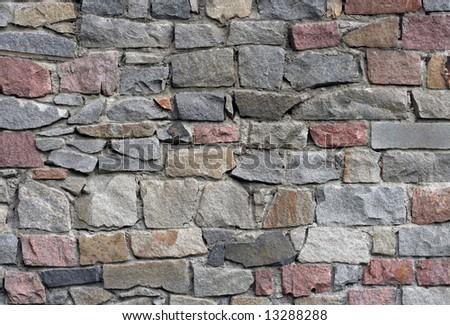 Wall pattern - stock photo