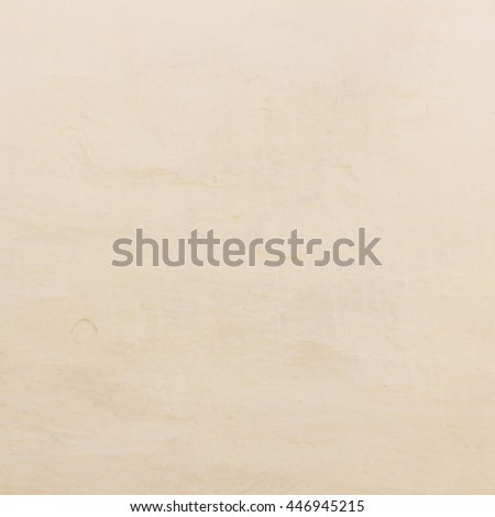 Wall plaster in light color as background - stock photo