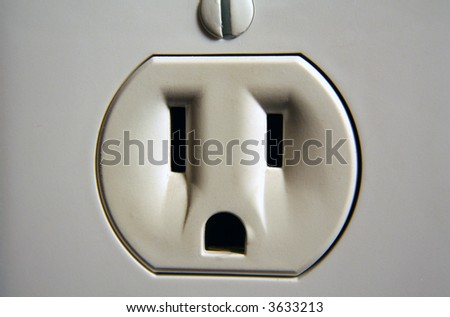 Wall Socket - stock photo