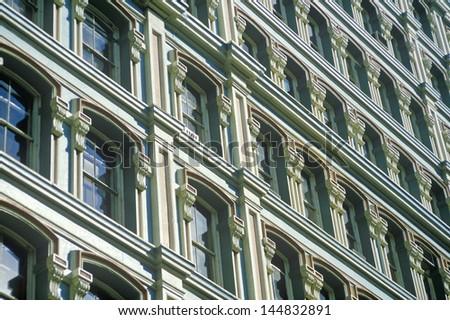 Wall Street in New York City, NY - stock photo