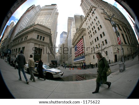wall street - manhattan - new york city