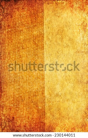 Wall textured old paper background  - stock photo