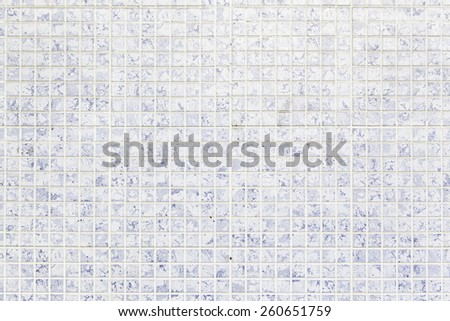 Wall tiles with typical old Lisbon, detail of traditional decoration of Portugal, ceramic art - stock photo
