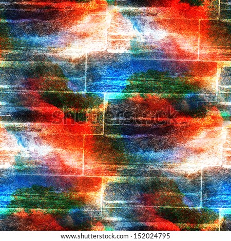 wall watercolor blue, red seamless texture background paint abstract pattern water watercolour  paper art
