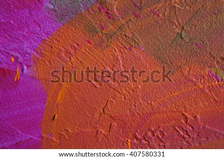 wall with abstract pattern abstract drawing background - stock photo