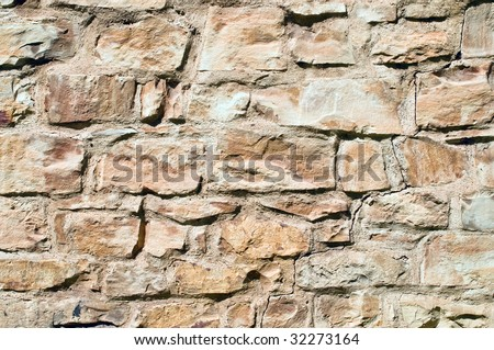 Wall with crack background