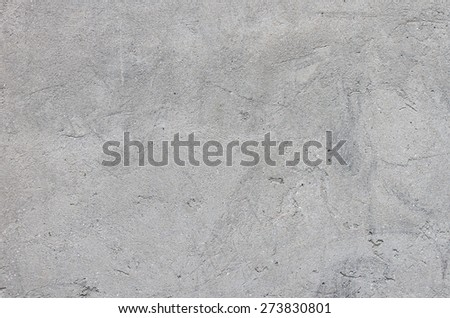 Wall with the application of concrete preparations for finishing putty. textural composition - stock photo