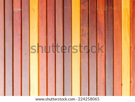 Wall wood plank background texture.