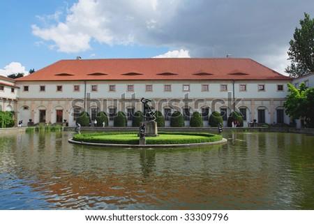 Wallenstein garden. Prague, Czech republic - stock photo