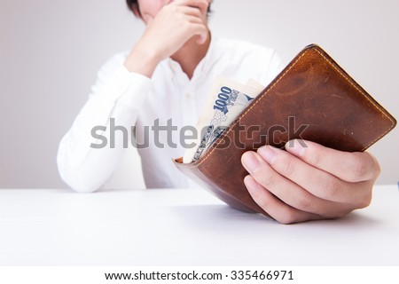 Wallet and men